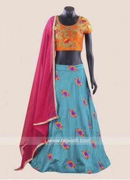 Kutchi Work Stitched Chaniya Choli