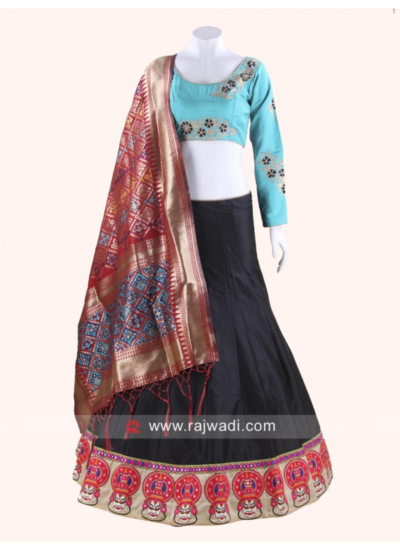 Kutchi Work Traditional Chaniya Choli
