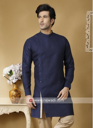 Charming Blue Color Kurta For Party