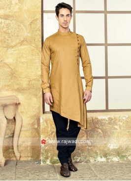 Layered Goldenrod Color Pathani