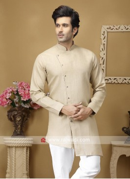 Beige Color Kurta For Party