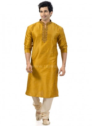 Legendary Golden Yellow Kurta Payjama