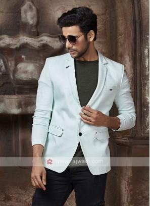 light aqua color blazer