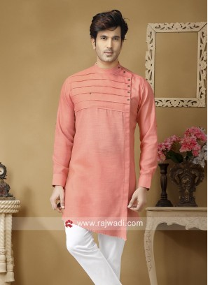 Light Coral Kurta For Party