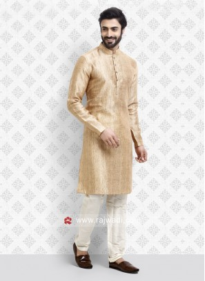 Light Orange Color Kurta Pajama