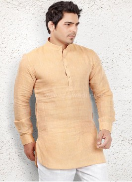 Light Orange coloured Kurta