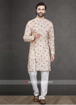 Light Orange Kurta Pajama