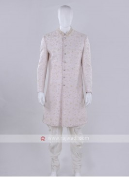 Light pink color Indo-Western