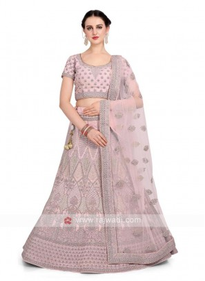 Light pink Color Lehenga Choli
