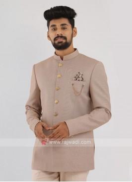 Light Pink Jodhpuri Suit