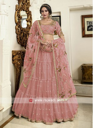 Light pink lehenga choli