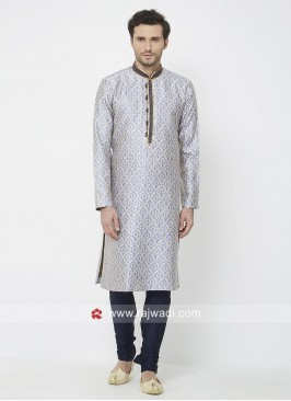 Light Purple Color Kurta Pajama