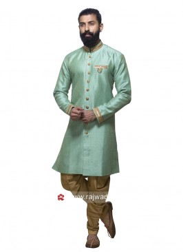 Light Sea Green Patiala Suit