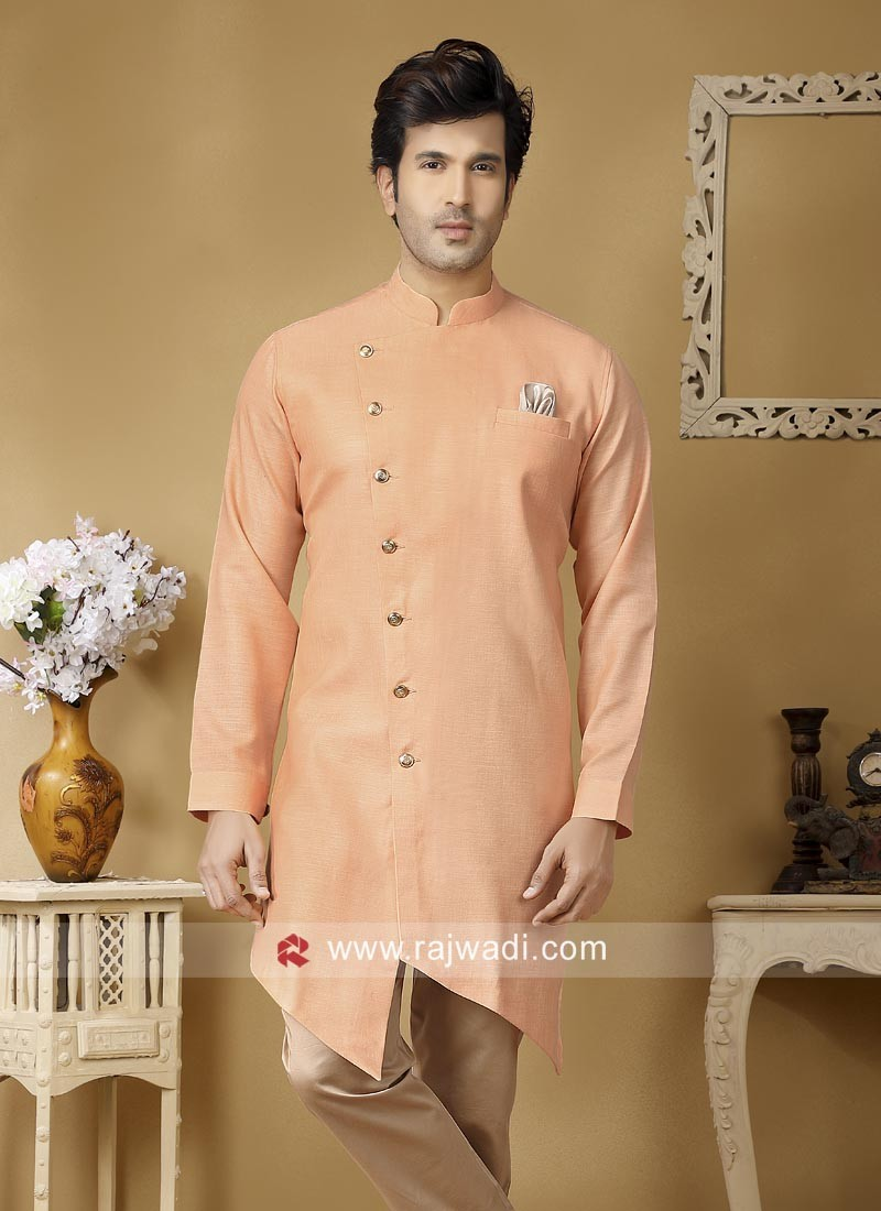 Linen Fabric Kurta For Mens
