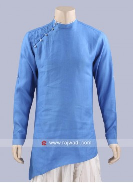 Linen Fabric Kurta For Party