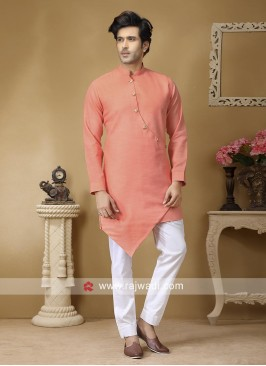 Linen Fabric Kurta Set