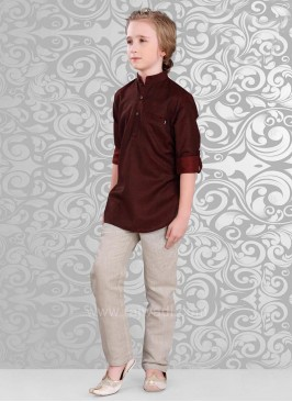Linen Fabric Kurta Pajama