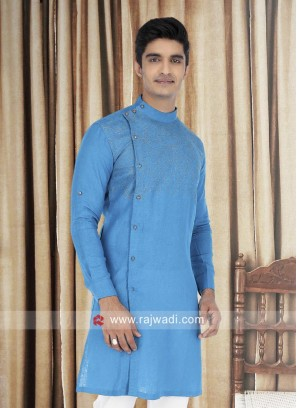Cotton Fabric Mens Kurta