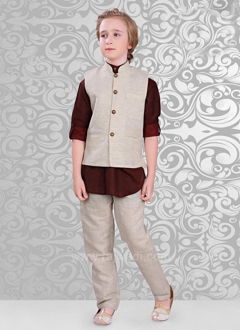 Linen Fabric Nehru Jacket