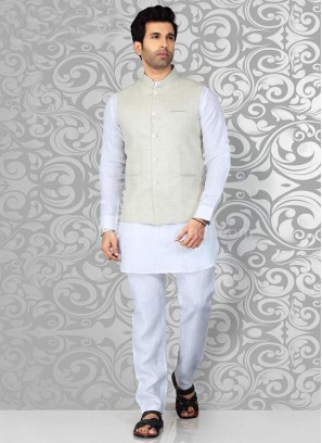 Linen Fabric Nehru Jacket