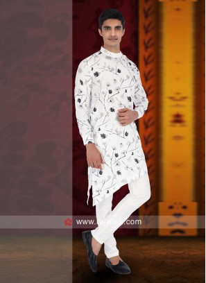 Linen fabric Pathani Suit for Wedding
