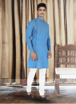 Linen Fabric Stylish Kurta Pajama