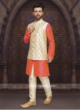 Stylish Mens Nehru Jacket For Wedding