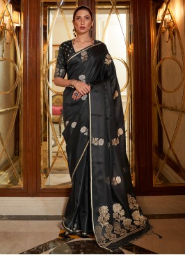 Lively Weaving Festival Traditional Designer Saree