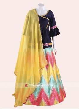 Long Choli Style Navratri Chaniya Choli