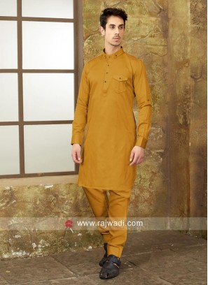 Long Sleeve Mens Pathani Suit