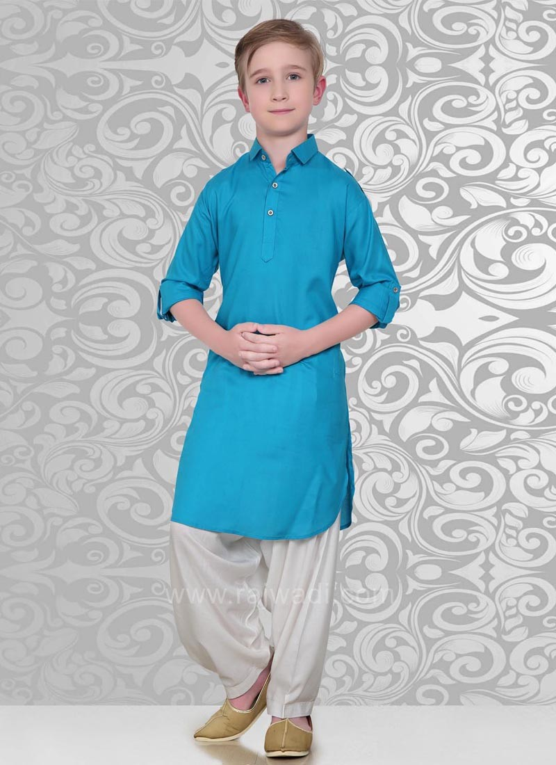 Long Sleeve Pathani Suit