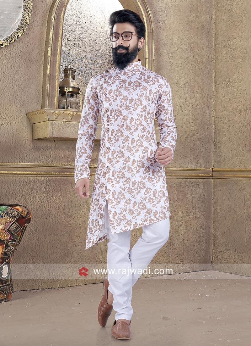 Long Sleeve Stylish Pathani Suit