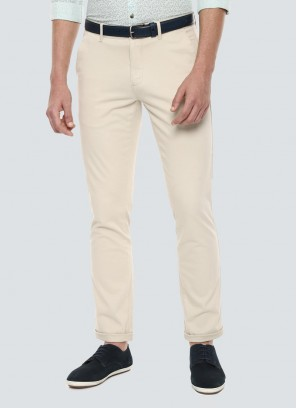 Louis Philippe Beige Trousers
