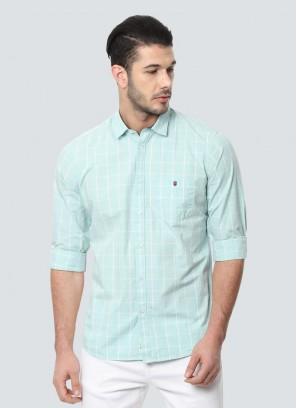 Louis Philippe Blue Shirt