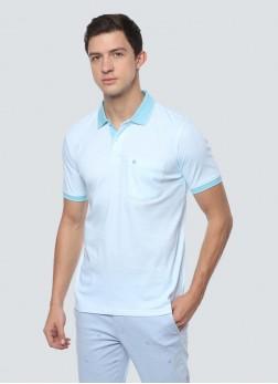 Louis Philippe Blue T Shirt