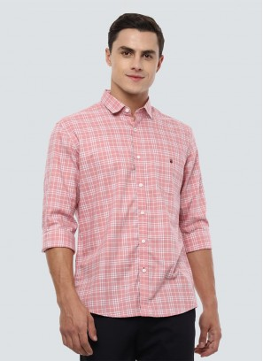 Louis Philippe Pink Shirt