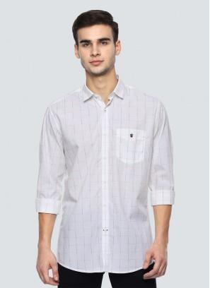 Louis Philippe White Shirt