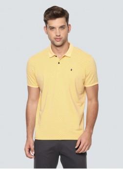 Louis Philippe Yellow T Shirt