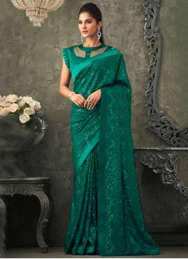 Lovable Embroidered Trendy Saree