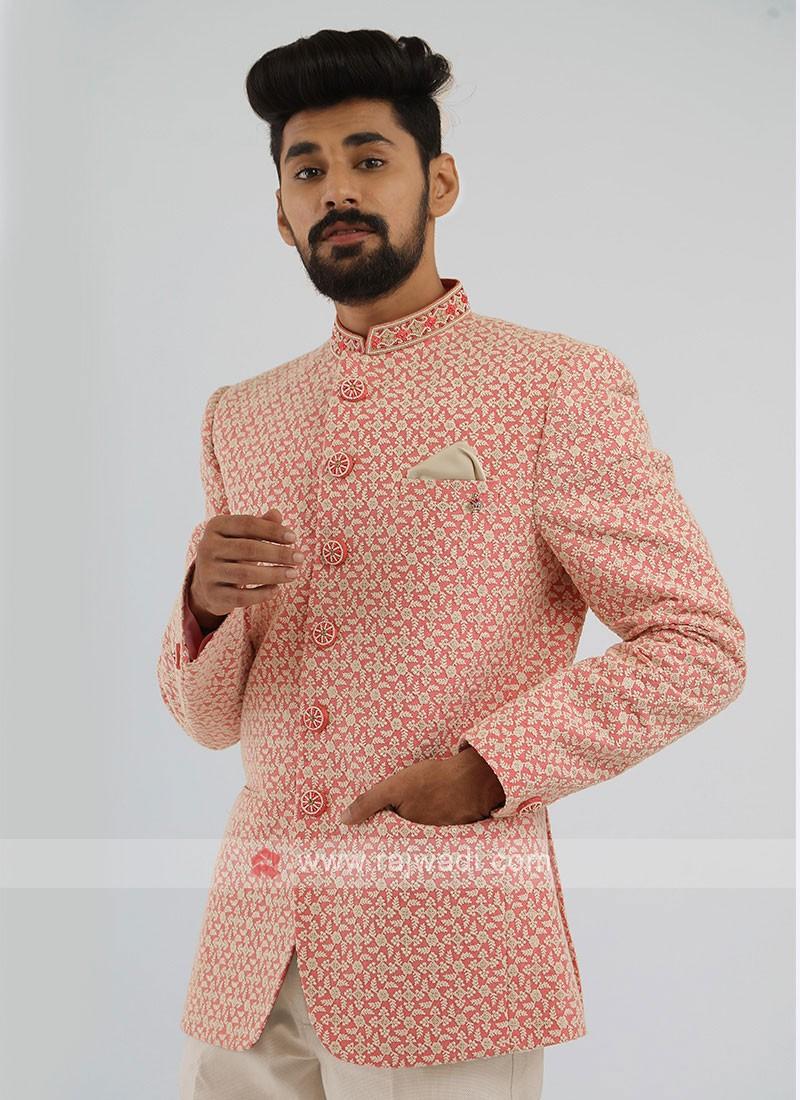 Lucknowi Work Jodhpuri Suit