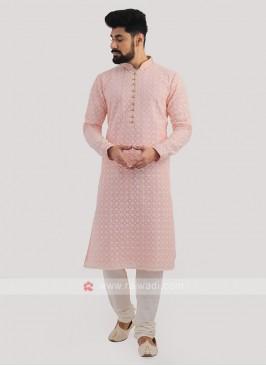 Lucknowi Work Kurta Pajama