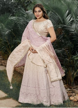 Lucknowi Work Shaded Choli Suit