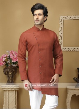 Charming Rust Color Kurta