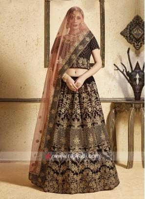 Maroon Bride Lehenga Choli