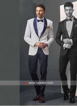Emboss Fabric Suit For Wedding