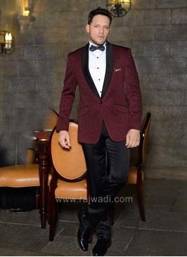 Maroon Color Imported Fabric Suit