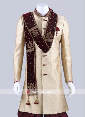 Maroon Color Velvet Fabric Dupatta