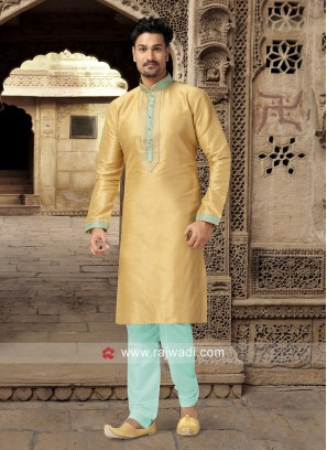 Light Yellow Kurta Pajama