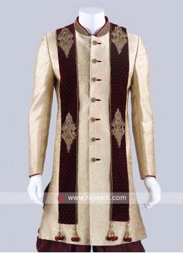 Maroon Velvet Fabric Dupatta