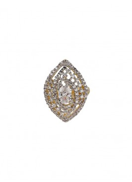 Marquise Shape American Diamond Ring